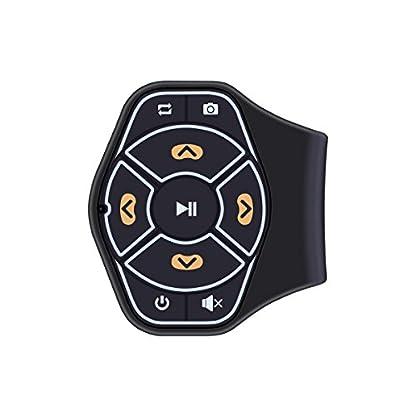 ONEVER-Drahtlose-Bluetooth-Lenkrad-Fernbedienung-Medien-Tasten-Fernbedienung-Multimedia-MP3-Musik-Spiel-for-Android-iOS-Smartpgone-Tablet-Auto-Motorrad-Fahrrad
