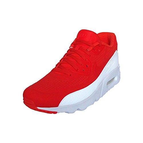 Nike Uomo Air Max 90 Ultra Moire scarpe sportive Rosso (Rojo (Lt Crimson / Lt Crimson-White))