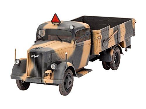 �Modellbau-LKW Deutsch Typ 2,5-32-Khaki-Maßstab 1/35-170teilig ()