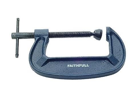 Faithfull G Clamp - Medium Duty 4IN