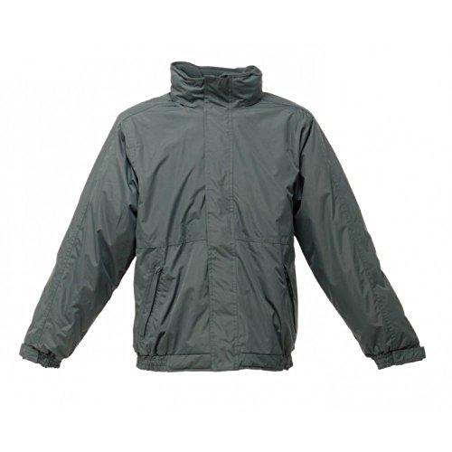 Hommes Regatta Dover Veste Tissu Polyester Hydrafort imperméable, coupe-vent Femme Vert - Dark Green/Dark Green