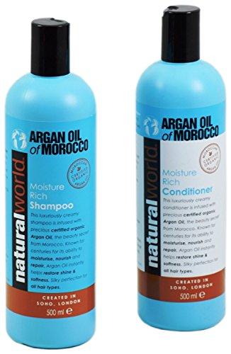 Natural World shampoo...