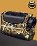 AOFAR Golf Caccia Rangefinder 5-700m Telemetro Laser Zoom 6x Multifunzione Impermeabile Laser Ingrandimento, Scansione della Velocità di Misurazione e Funzione di Nebbia, Batteria Gratuita