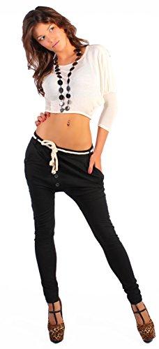 Pantaloni Harem BOYFRIEND pantaloni da jogging sui pantaloni Skinny pantaloni