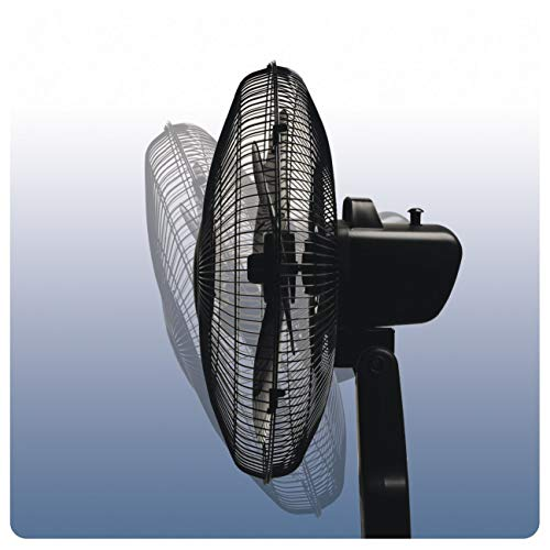 """412P9EatDUL. SS500  - Honeywell QuietSet 16"""" Stand Fan Black with Remote Control and Sleep Mode"""