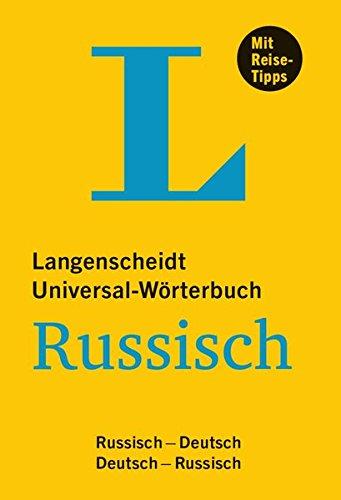 Langenscheidt Universal-Wörterbuch Russisch: Russisch-Deutsch/Deutsch-Russisch (Langenscheidt Universal-Wörterbücher)