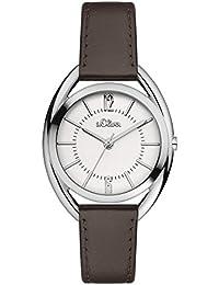 s.Oliver Damen-Armbanduhr Analog Quarz Leder SO-3161-LQ