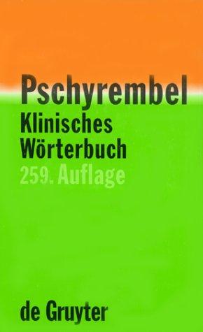 Gruyter Pschyrembel Klinisches Wörterbuch
