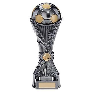 All Stars Gun Metal Football Trophies 250mm