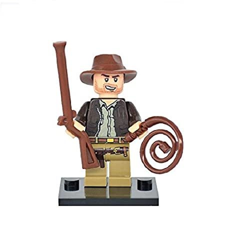 Indiana Jones Lego kundenspezifische minifigure kompatibel mit Lego Diy Figur - Superhelden - perfekt für Weihnachten - Weihnachten