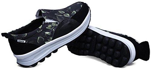 DADAWEN Femmes Chaussures Confortable Vert
