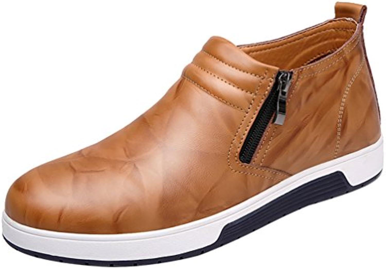Salabobo - botas sin cordones hombre, color marrón, talla 41 EU
