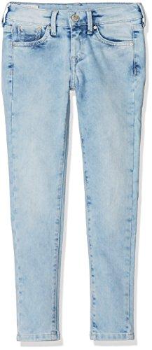 Pepe Jeans PIXLETTE PG200242, Jeans para Niñas, Azul (10Oz Aura Bleach Pj0), 6 años