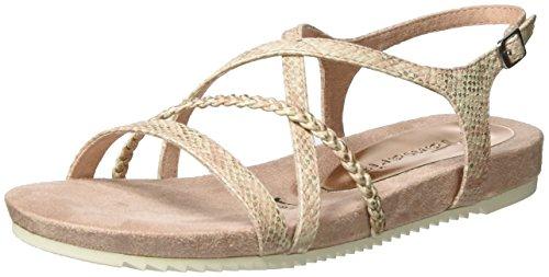 Tamaris Damen 28106 Offene Sandalen mit Keilabsatz Pink (ROSE STRUCTURE 579)