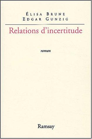 Relations d'incertitude