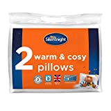 Best Pillows - Silentnight Warm and Cosy Pillow Pair, Microfibre, White Review
