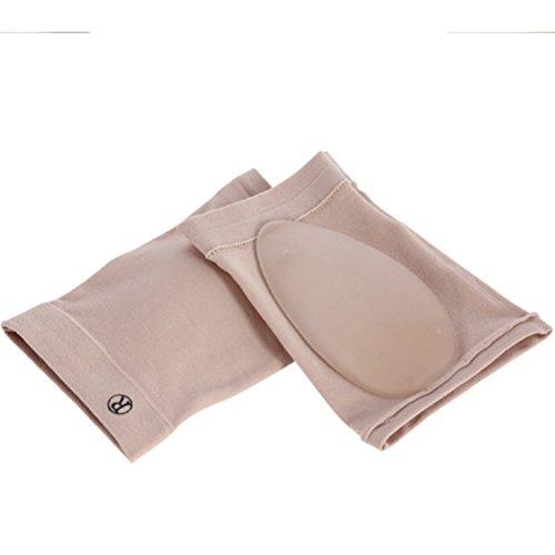 SUPVOX Arch Support Sleeves Silikon Fuß Kompressionsverpackung Fuß unterstützt Socken für Plantar Fasciitis Mann und Frau (Arch Support Sleeve)