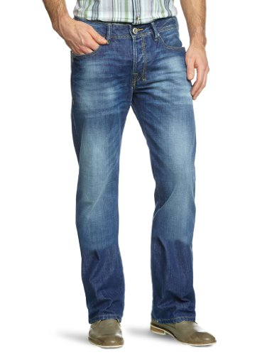 LTB Jeans Herren Jeanshose/ Lang 50186 / Roden, Boot Cut Blau (Giotto Wash 2426)