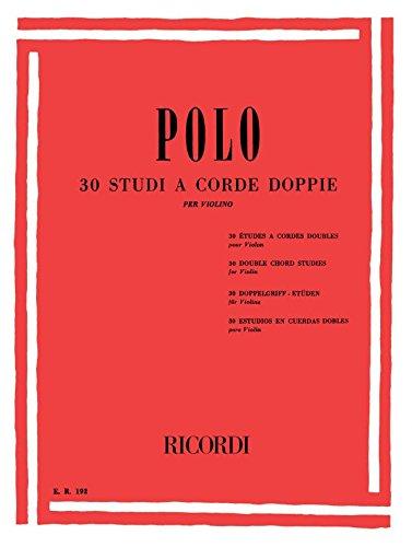 Etudes double corde (30) - Violon