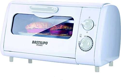 Bastilipo Sicilia Mini Horno Tostador, 600 W, 8 litros, Otro, Blanco