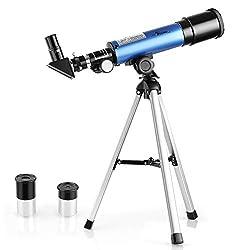 TELMU Telescope For Kids Portable Astronomy Telescope Toys For the Basic Use and Beginners