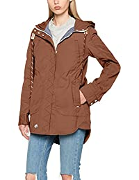 khujo Damen Jacke Navassa Washed Nylon Jacket