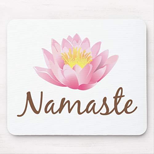 JAMILA Namaste Lotos-Blumen-Yoga Namaste Lotos-Blumen-Yoga Mousepad