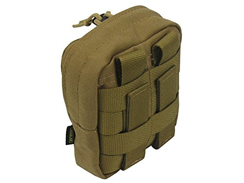 Molle tattico borsa piccola trasporto Utilitarian, Black Coyote Brown