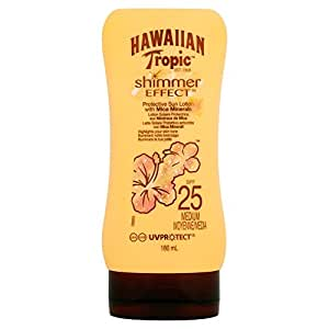 Hawaiian Tropic Crème Solaire Effet Shimmer SPF 25 180 ml