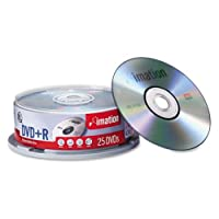 DVD+R 16x 25pk Spindle