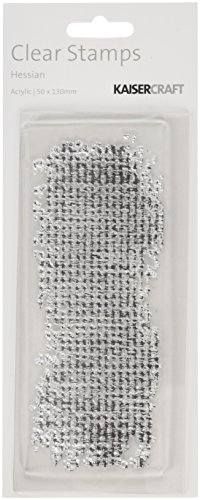 kaisercraft-cs153-acrylic-rubber-texture-stamp-575-by-25-inch-hessian-clear
