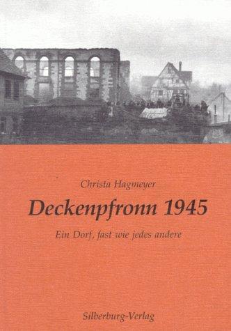 Deckenpfronn 1945