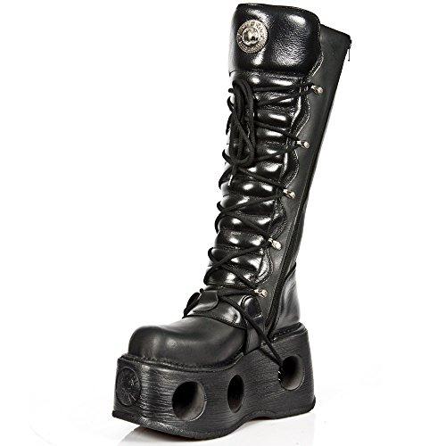 New Rock Boots Lederstiefel schwarz Style 272 BLACK, BLACK