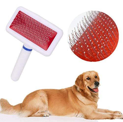 Xmb Cepillo Perro Cepillo Gato Quita pelos Perro Limpia