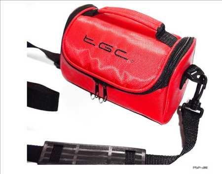 Reisetasche New Crimson rot Schutzhülle für das Garmin FishFinder echotm 300C SAT NAV GPS 300 Fishfinder