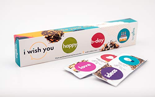 Teapins I Wish You | Set Regalo 10 Tés Hebras, Haga