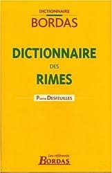 DICTIONNAIRE BORDAS DES RIMES 04    (Ancienne Edition)