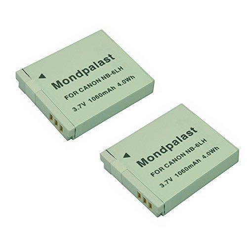 mondpalast-r-2-x-remplacement-batterie-nb-6lh-nb6lh-1060mah-pour-canon-powershot-sx710-hs-sx520-hs-s