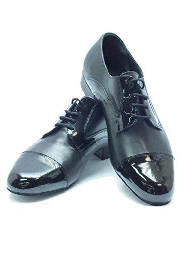 Pintado Herren Vitiello De Normas Dança Preto Preto Standardtanz De E Sapatos Borla vFBwqRg4OF