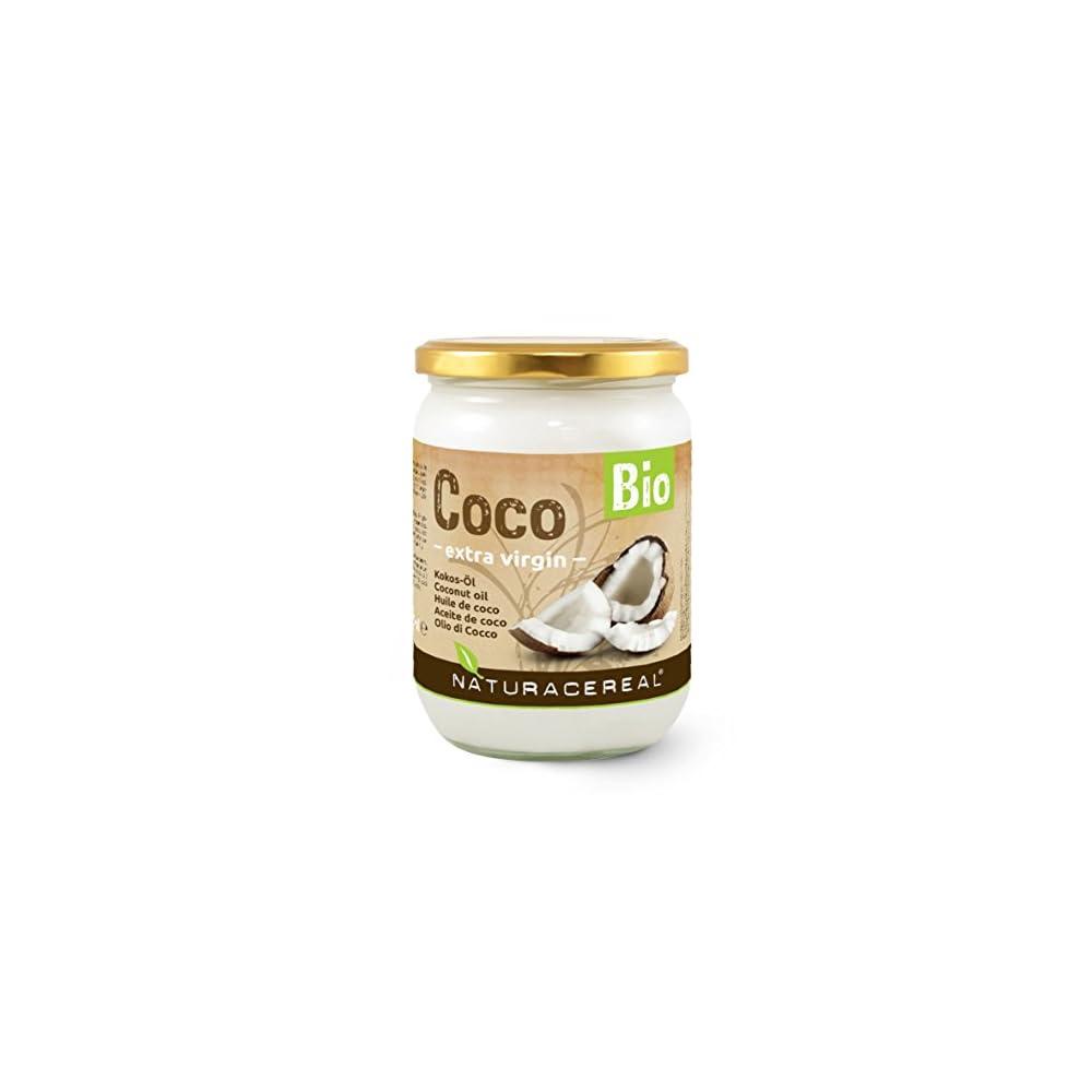 Kokosl Bio Von Naturacereal Im Glas Unraffiniert Unbehandelt Ungehrtet Nicht Desodoriert Kokosnussfett Kokos L Kokosfett Cocosfett Coconut Oil Kontrollierte Qualitt
