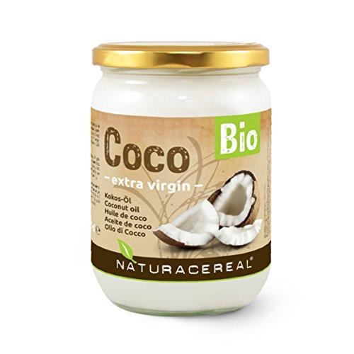 Olio di Cocco Bio 500ml - NATURACEREAL - alta qualità - perché si vuole vivere in modo sano