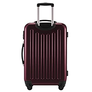 80a8cd5c7 Principal Ciudad maletín ® Maleta de viaje XL · maletín rígido · Mate o  Brillo + equipaje Correa, granate (rojo) - T16TSA - Las maletas de viaje