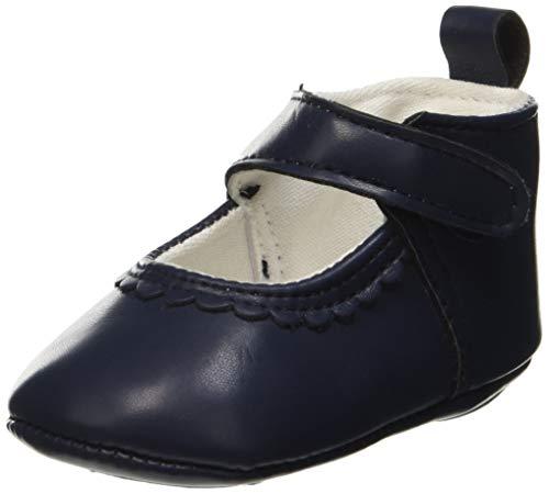 ZIPPY Baby Mädchen Bailarinas Pre-Walker para Recién Nacida Ballerinas, Blau (Dress Blue 19/4024 Tc 185), 15 EU -