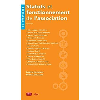 Statuts et fonctionnement de l'association - 4e éd.