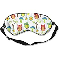 Sleep Eye Mask Cute Owl Lightweight Soft Blindfold Adjustable Head Strap Eyeshade Travel Eyepatch preisvergleich bei billige-tabletten.eu