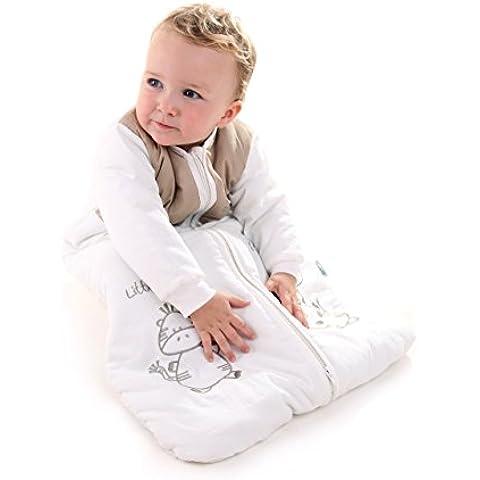Slumbersac Sacco Nanna Invernale Bambino Maniche Lughe 3.5 Tog Animali Taglie Assortite Da Neonato Bambino (Torta Di Quattro Strati)