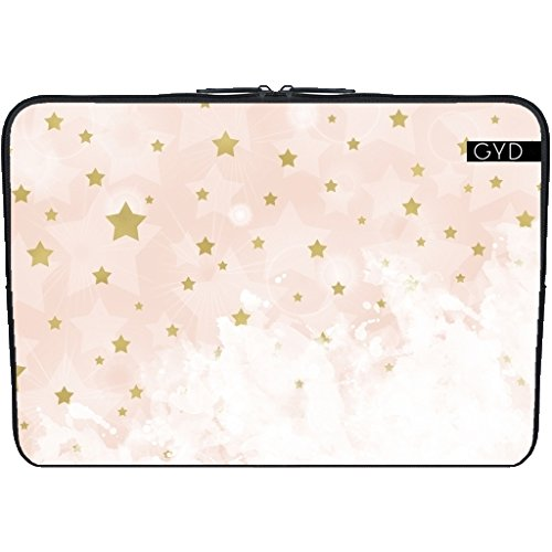 coperchio-neoprene-laptop-netbook-pc-133-pollici-effetto-stelle-doro-sul-pin-arrossire-by-edrawings3