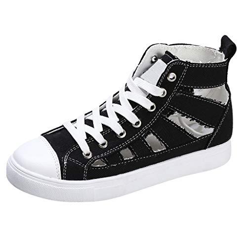 r Sandalen Bohemian Flach Sandaletten Sommer Strand Schuhe,Frauen Single Schuhe Sommer Wohnungen Casual Sandalen Cross-Strap Sportschuhe Sneaker ()