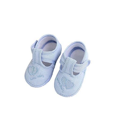 Knowin Süßes Weiche Sohle Krippe Kleinkind Schuhe Canvas Sneaker Unisex Junge Kinderschuhe Babyschuhe Stoffschuhe Sandalen Lauflernschuhe Mädchen Sandale Sandaletten