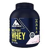 Multipower 100% Pure Whey Protein - wasserlösliches Proteinpulver mit Erdbeer Geschmack - Eiweißpulver mit Whey Isolate als Hauptquelle - Vitamin B6 und hohem BCAA-Anteil - 2 kg